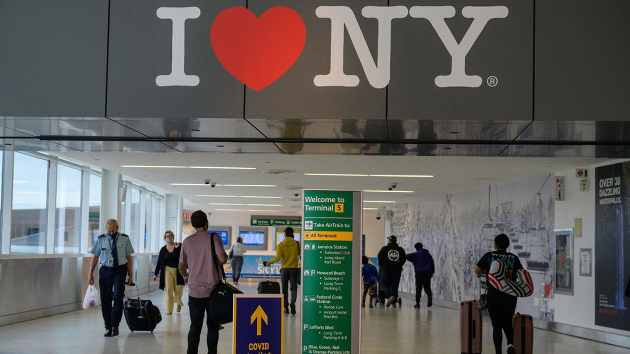 L'aéroport John F. Kennedy (JFK) à New York, le 28mai 2021.