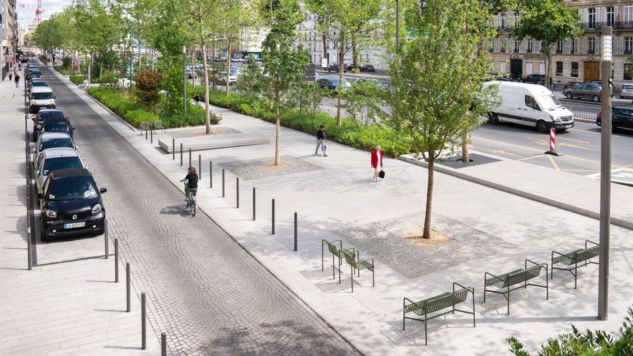 Un concours d'architecture doit permettre de sélectionner 19 projets qui vont être installés sur l'avenue Charles de Gaulle à Neuilly