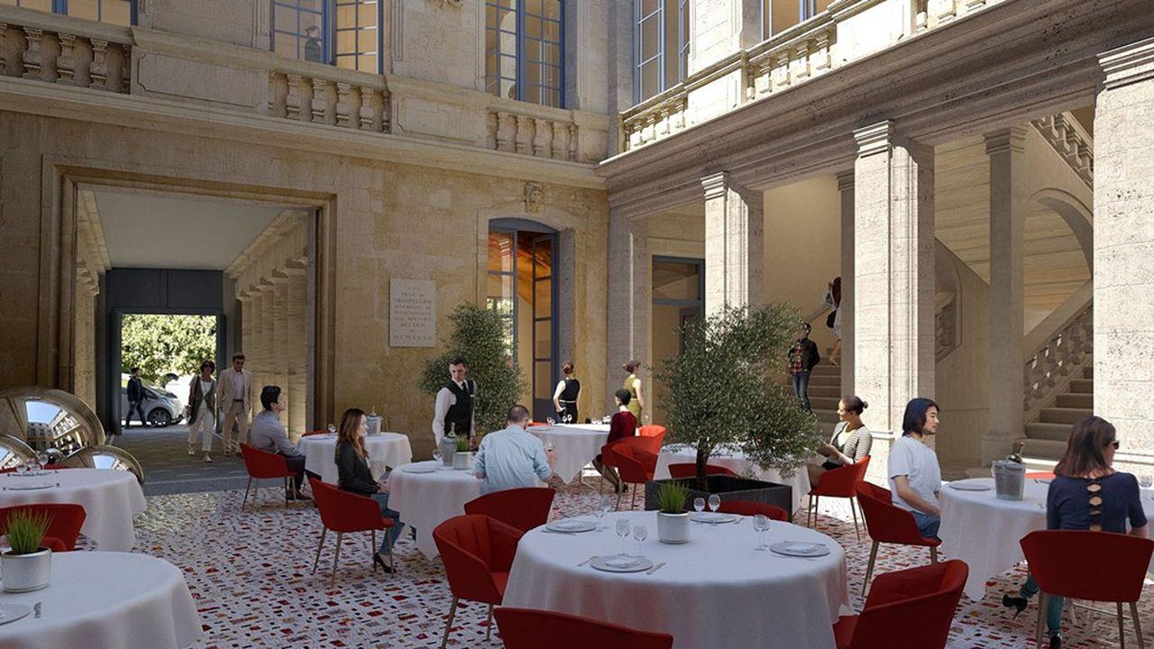 L'hôtel particulier Richer de Belleval, situé au coeur du centre-ville de Montpellier, accueillera le nouveau restaurant gastronomique de Jacques et Laurent Pourcel.