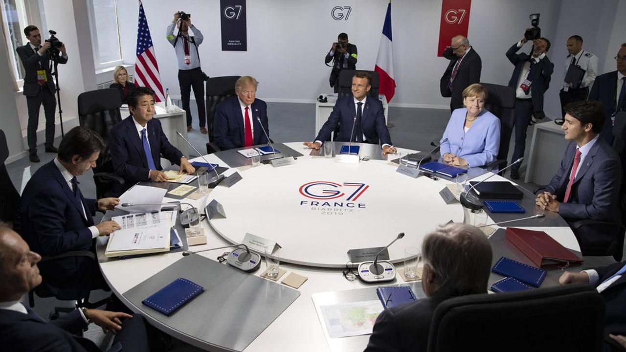 Le G7 reste un lieu capital pour les économies occidentales. Ici, le G7 qui s'est tenu à Biarritz en août2019.