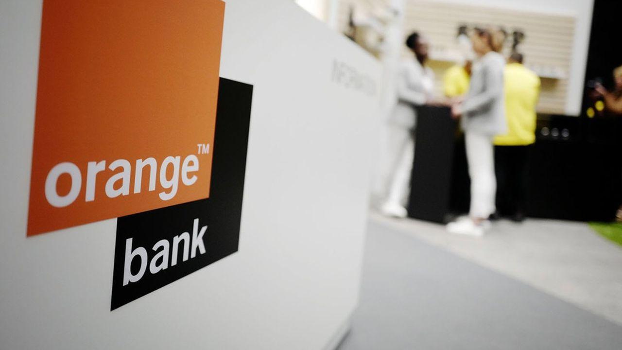 Orange Bank revendique au total 1,2million de clients particuliers en Europe et 300.000 clients professionnels et PME.
