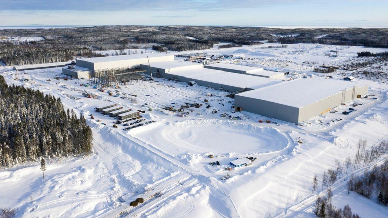 La capacité de l'usine «Northvolt Ett» va être portée de 40 GWh à 60 GWh, indique la firme dans un communiqué. De quoi équiper plus de 1,1million de voitures par an.