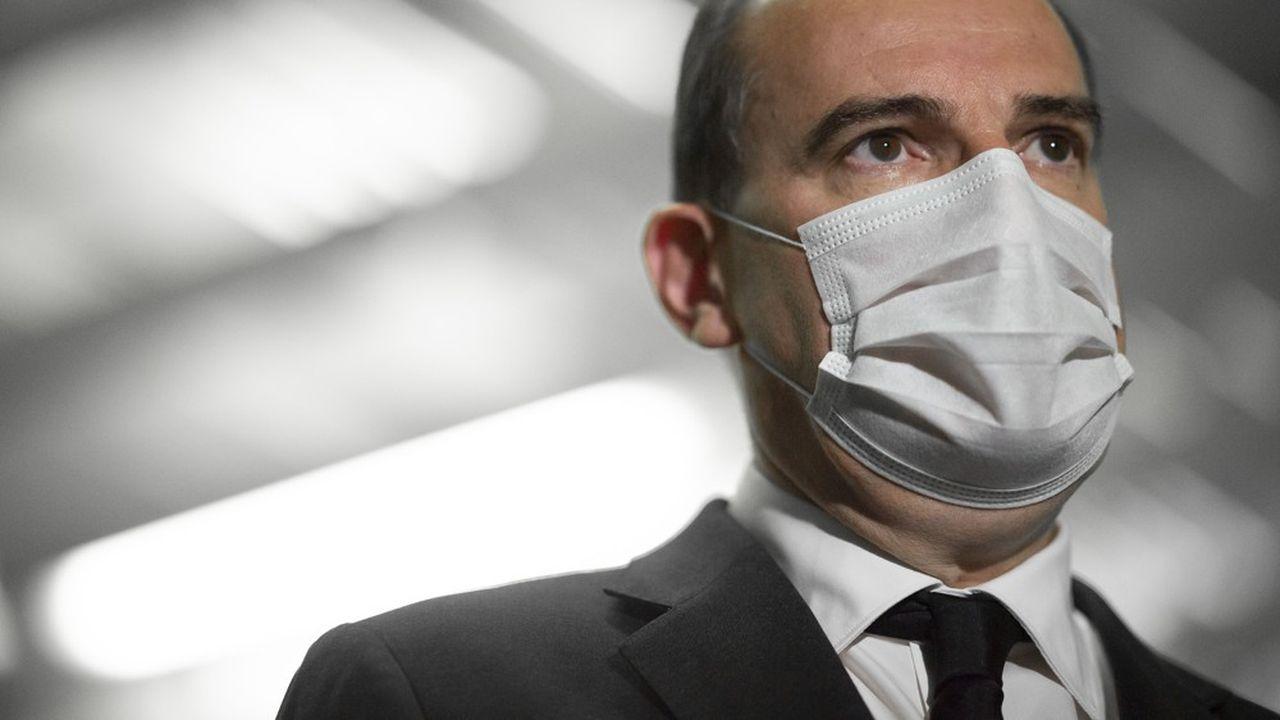 Le Premier ministre Jean Castex va se placer durant sept jours à l'isolement.