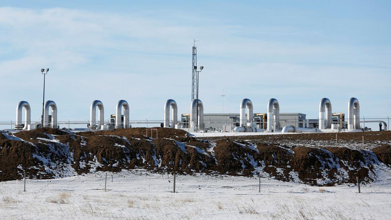 En gestation depuis 2008, le projet, approuvé par l'administration Trump, a coûté 8milliards de dollars, dont 1,1milliard apporté par la province canadienne d'Alberta.