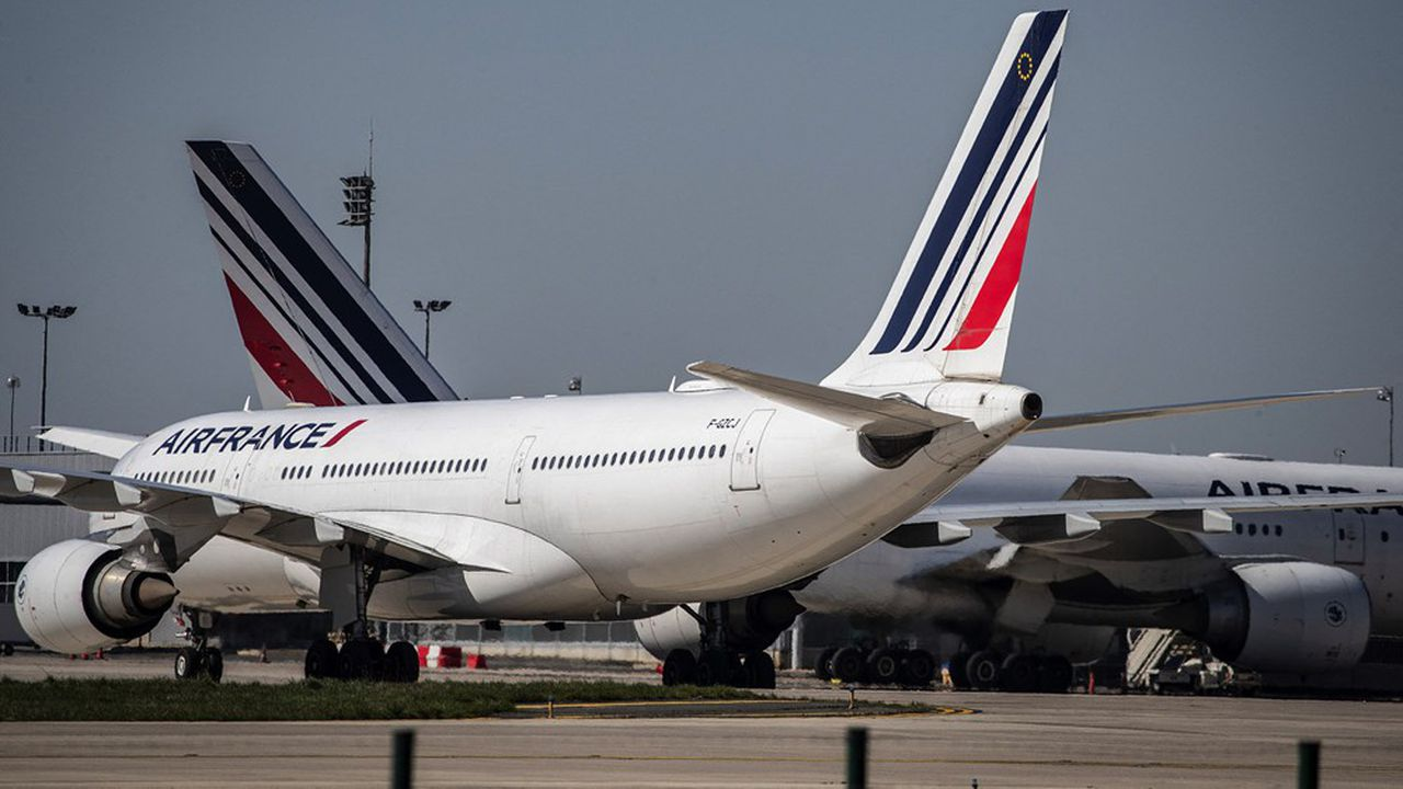 Air France a bénéficié du soutien des Etats français et néerlandais.