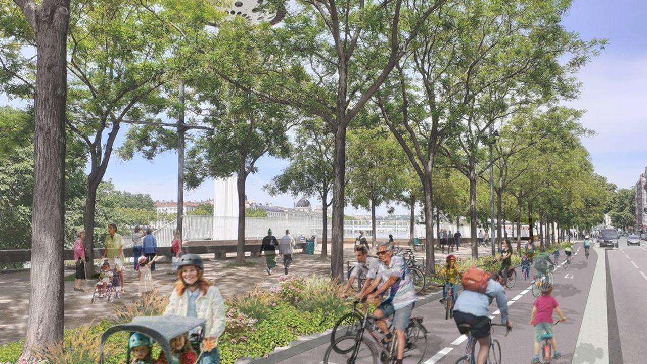 Projet phare de la mandature écologiste, le réseau express vélo débute avec le lancement d'une première ligne de 17 kilomètres.