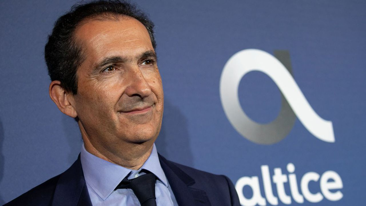 Patrick Drahi, le PDG-fondateur du groupe Altice, la maison mère de SFR.