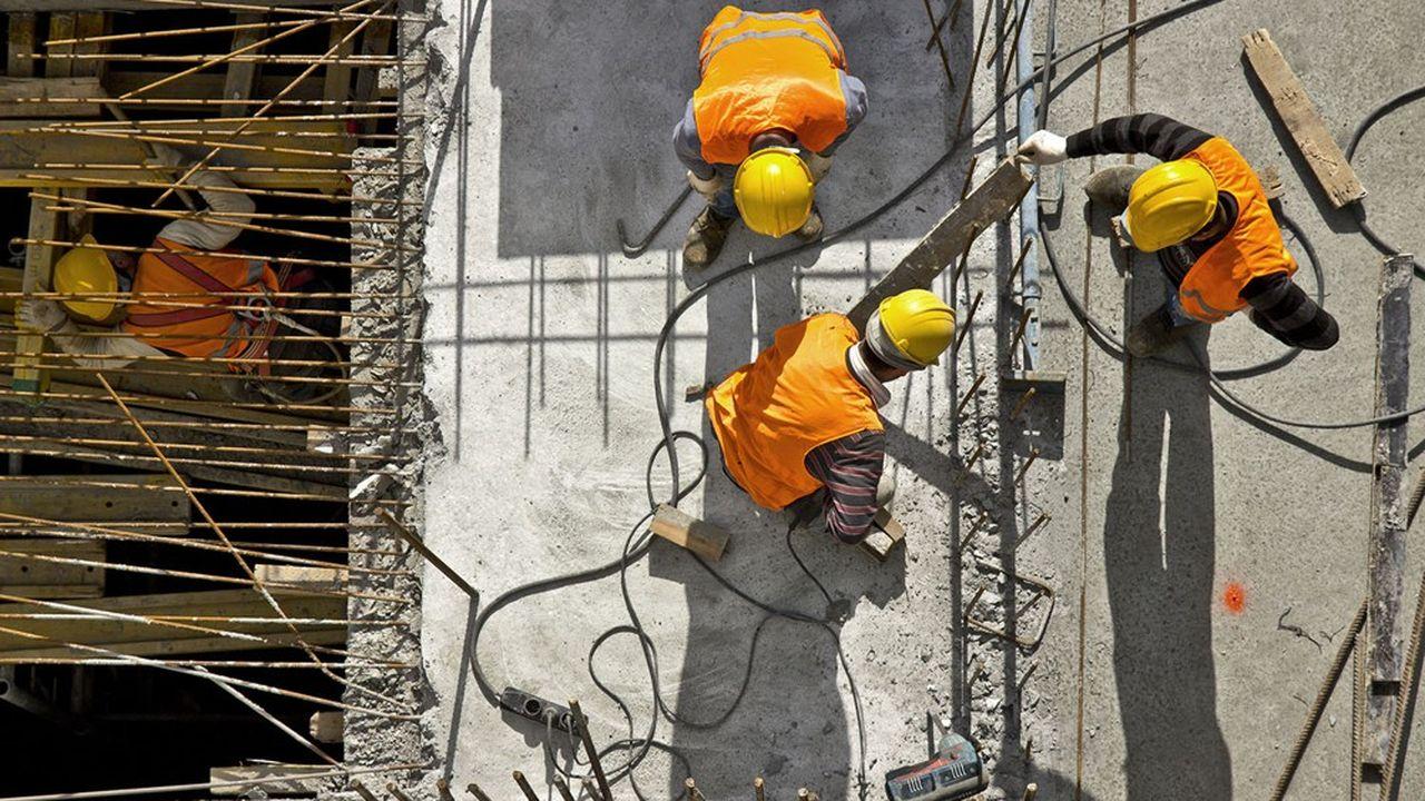 La construction comptait fin mars 51.000 emplois salariés hors intérim de plus que fin 2019.