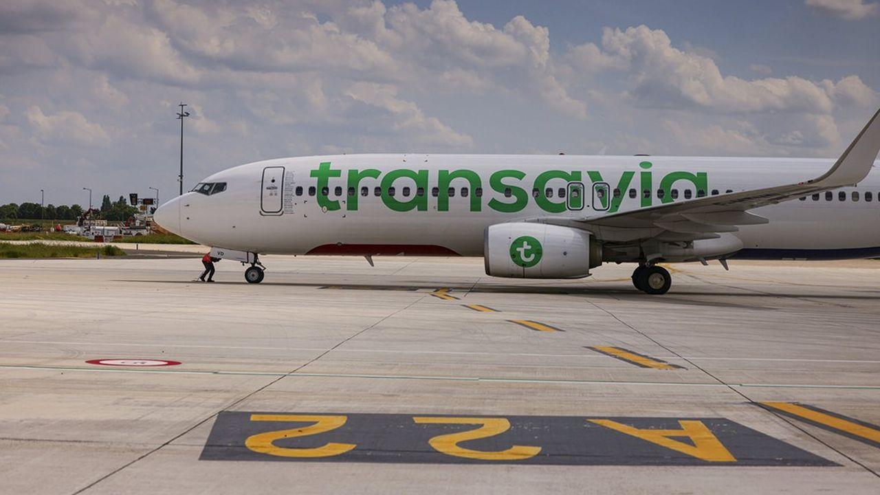 La flotte de Transavia France s'est accrue de huit Boeing 737-800 cette année.