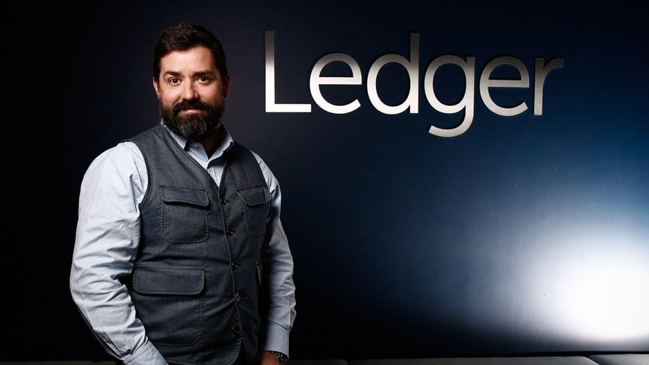 Ledger, dirigée par Pascal Gauthier, vend des portefeuilles numériques dédiés à la conservation et la gestion des cryptoactifs.