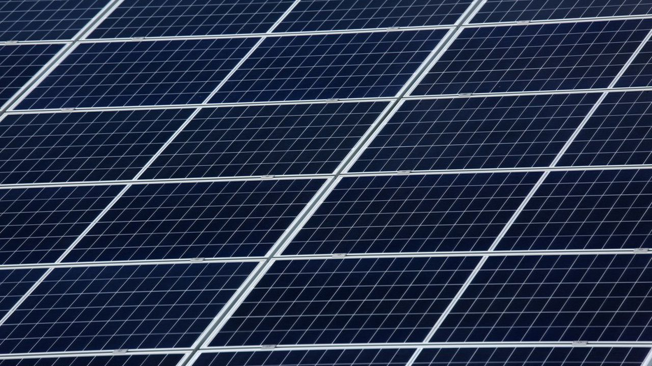 Leparc solaire occupe une surface de 2,7 hectares.