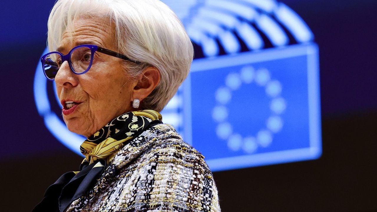 Christine Lagarde a assuré que toute discussion sur une réduction des interventionsde la Banque centrale européenne - qu'elle préside - était prématurée.