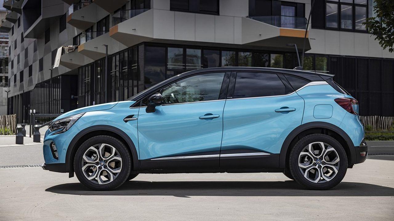 Nouveau Renault Captur E-Tech Plug-in.