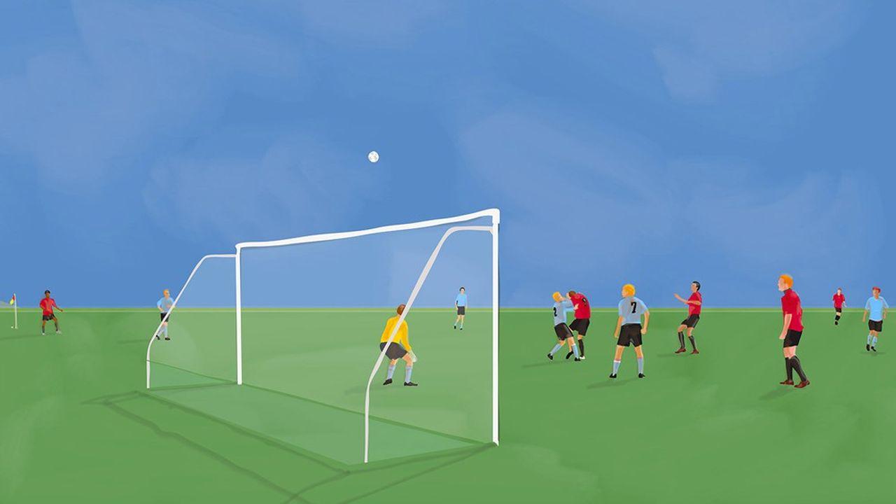 « Football (The Sunday Game) » de Mario Sughi.