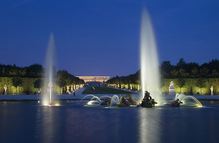 Les Grandes Eaux de Versailles.