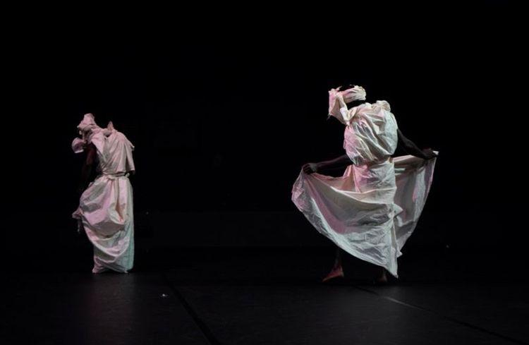«L'Homme rare», chorégraphie de Nadia Beugré, Espace Cardin, Théâtre de la Ville.