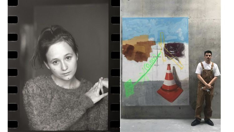 Lili Poli est comédienne et Louis Provust étudiant aux Beaux-Arts de Limoges.