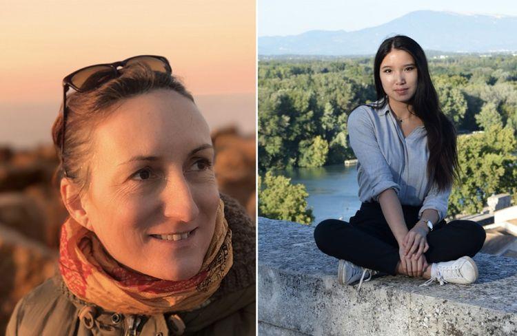 Corinne Cambournac a tout de la slasheuse, et multiplie les activités professionnelles, tandis que Marjorie Cabrol étudie le chant lyrique au Conservatoire d'Avignon.