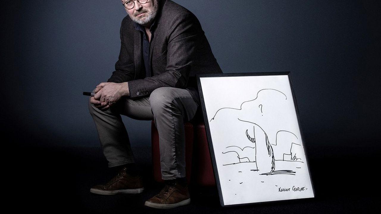 Dans son essai illustré « Raison et Dérision », Xavier Gorce tente de sauver le dessin de presse, avec rigueur et honnêteté.