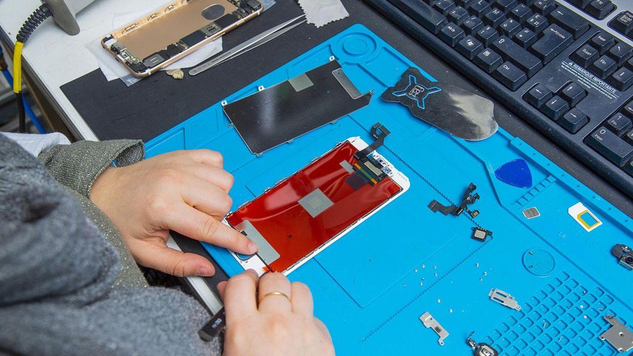Chaque année, environ 2millions de smartphones reconditionnés sont vendus en France.