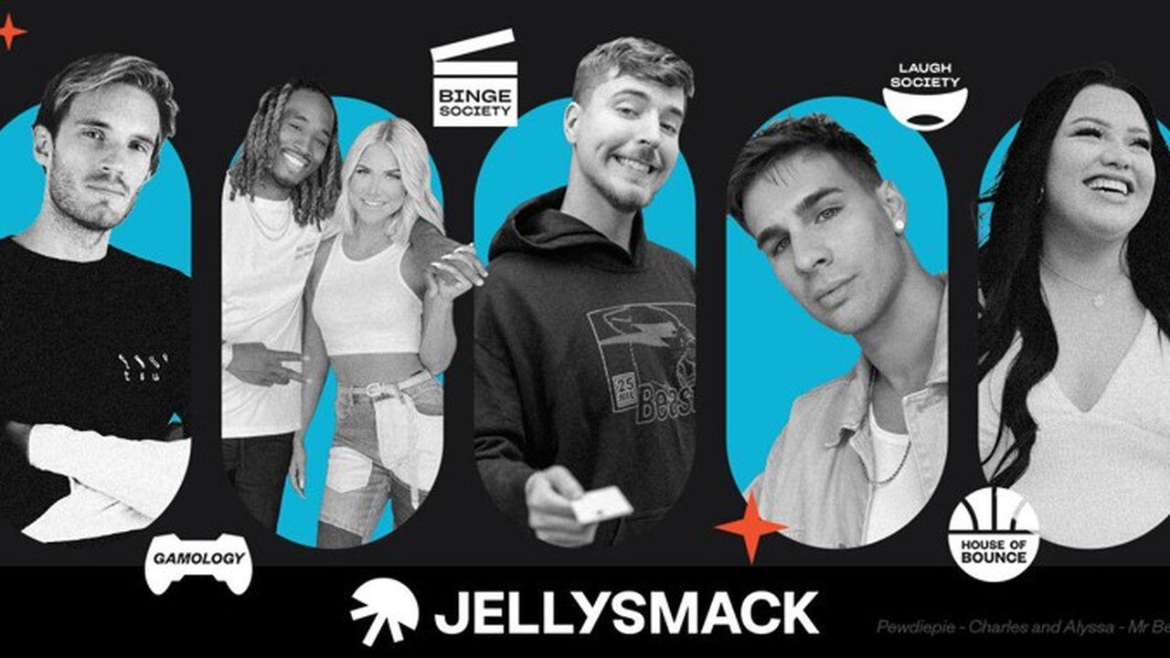 Fondée en 2016, Jellysmack accompagne PewDiePie ou Cauet sur les grandes plateformes.