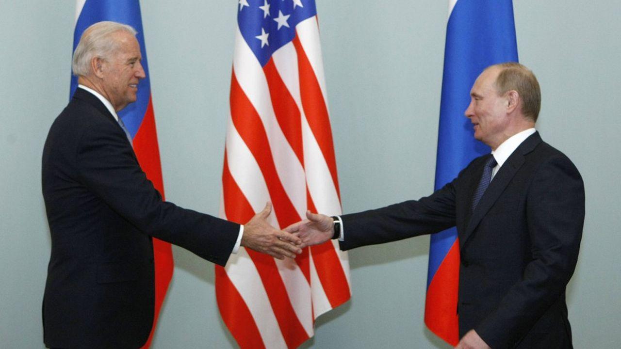 Dix ans après une première rencontre à Moscou en mars2011 entre Joe Biden, alors vice-président d'Obama, et Vladimir Poutine, les deux hommes se retrouvent à Genève le 16juin.