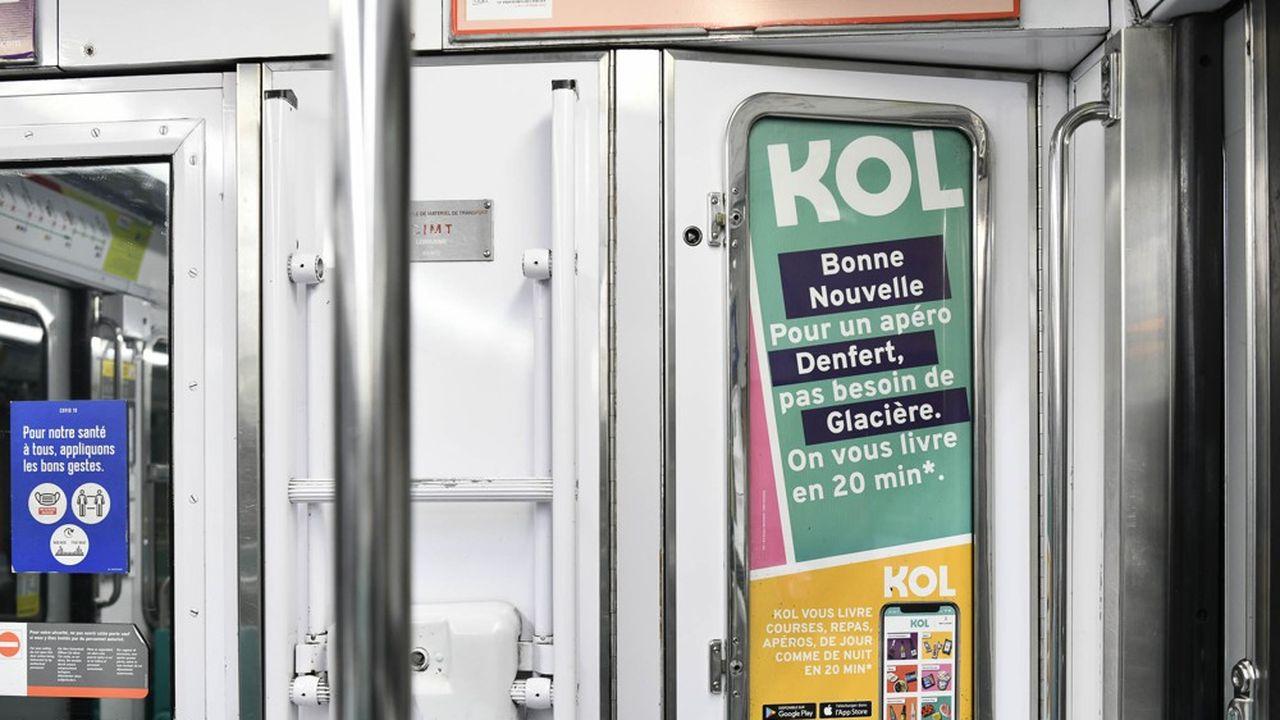 La start-up Kol a investi dans une campagne publicitaire dès le premier confinement.