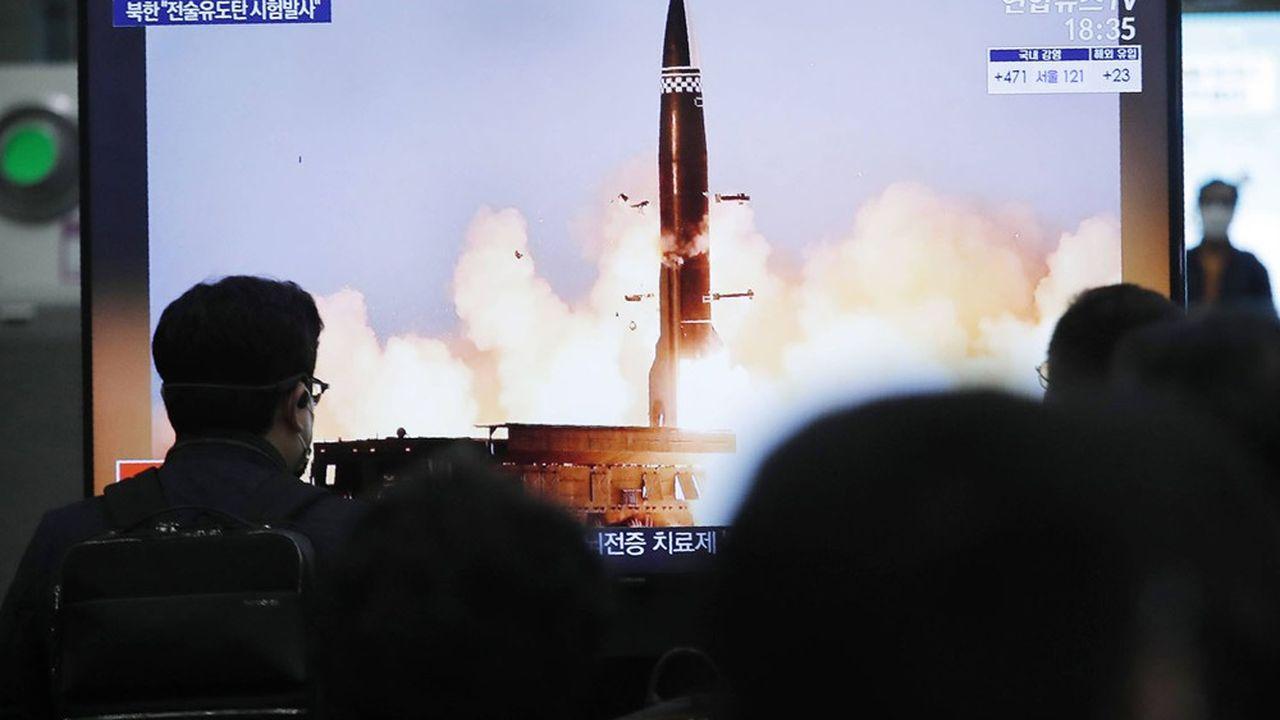 L'Institut international de recherche sur la paix de Stockholm juge que la Corée du Nord pourrait construire 40 à 50 têtes avec la matière fissile produite par le régime.
