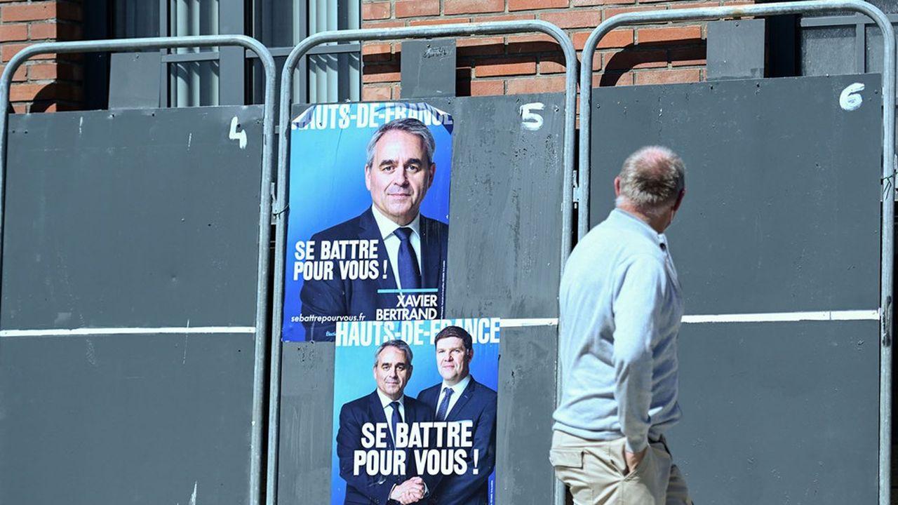 La question du front républicain va se poser à LREM, qui risque de se trouver distancée dans plusieurs régions où le risque RN est fort, comme ici dans les Hauts-de-France.