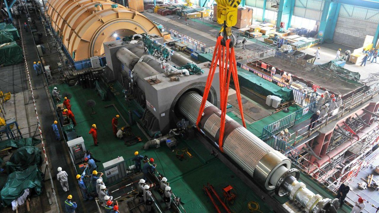 EDF a mis en service ses deux premiers EPR dans le monde en Chine, dans la centrale de Taishan.