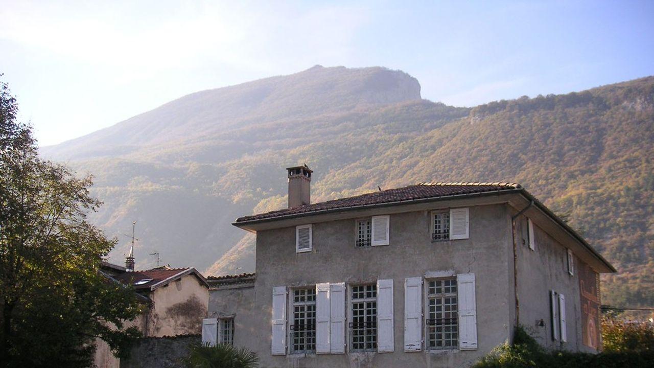 Le Musée Champollion, au pied du Vercors.
