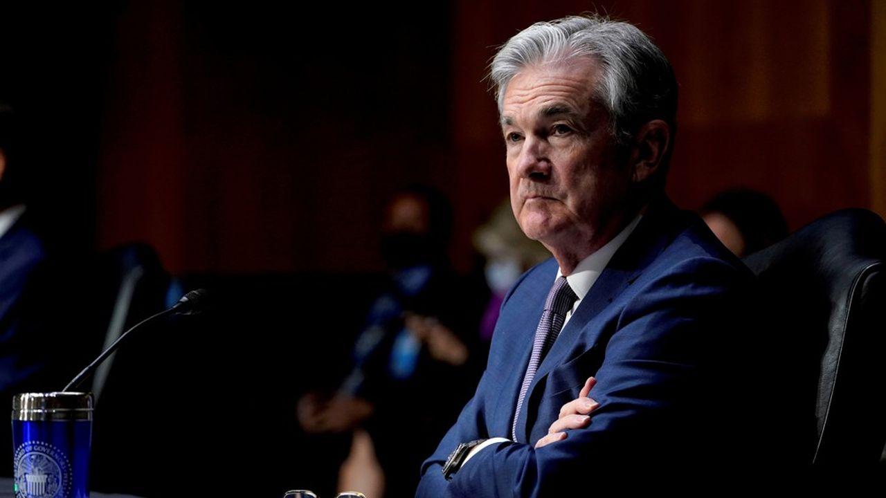 Les prévisions économiques de la Fed et les commentaires de son président Jerome Powell sont attendus, alors que l'inflation progresse plus vite que prévu.