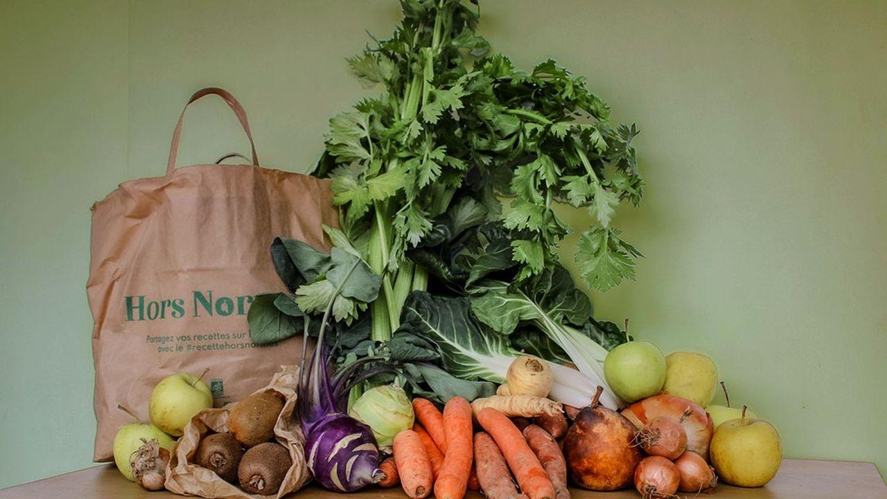 La start-up Hors Normes a fait le pari de revendre directement les fruits et légumes «moches» sous forme de paniers