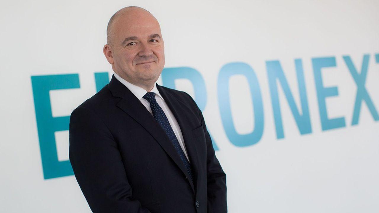 Stéphane Boujnah, président du directoire et directeur général d'Euronext.