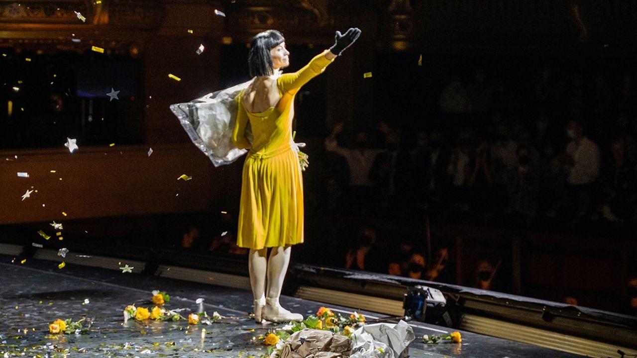 Eleonora Abbagnato a fait ses adieux sur la scène du Palais Garnier, le 11 juin 2021.
