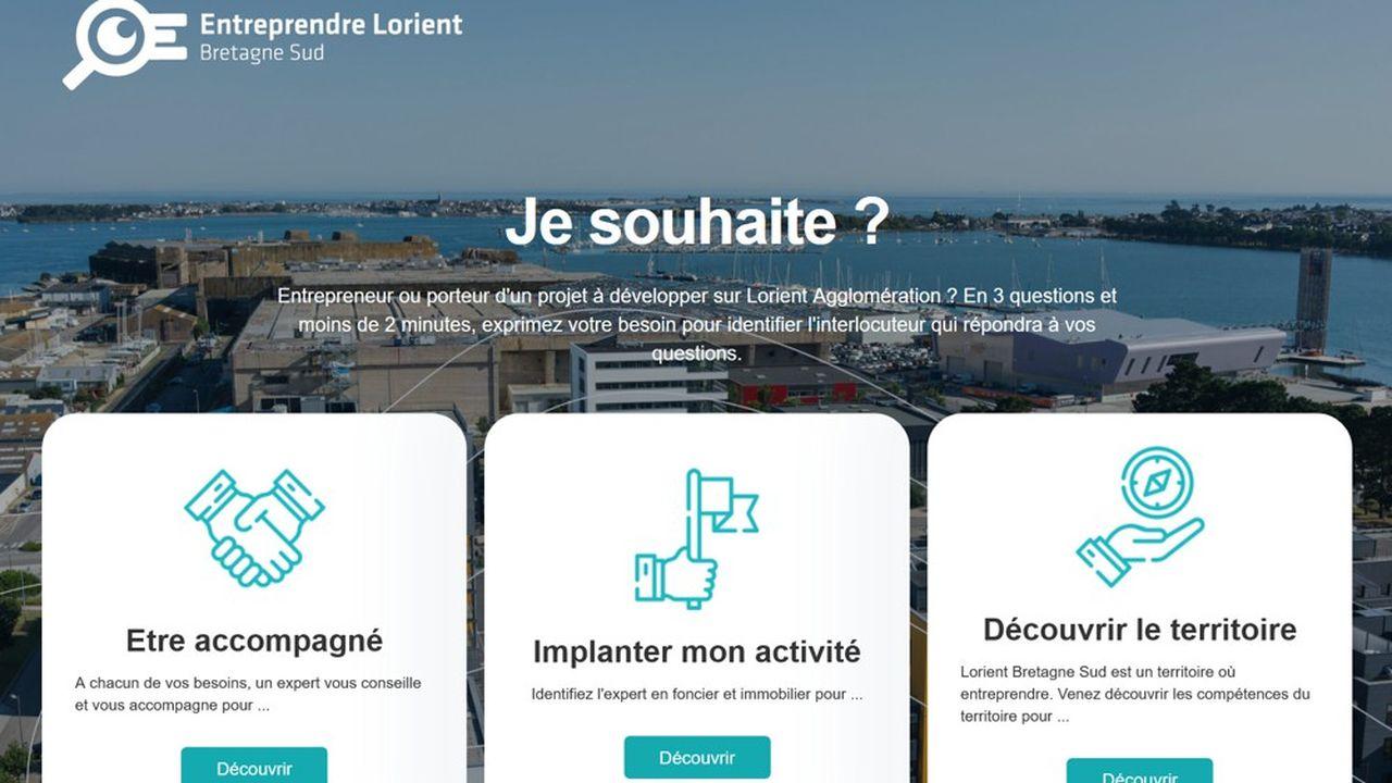 Cette plateforme vise à soutenir les créations d'entreprise. Dans le Morbihan, elles ont progressé de 11% au quatrième trimestre de 2020.