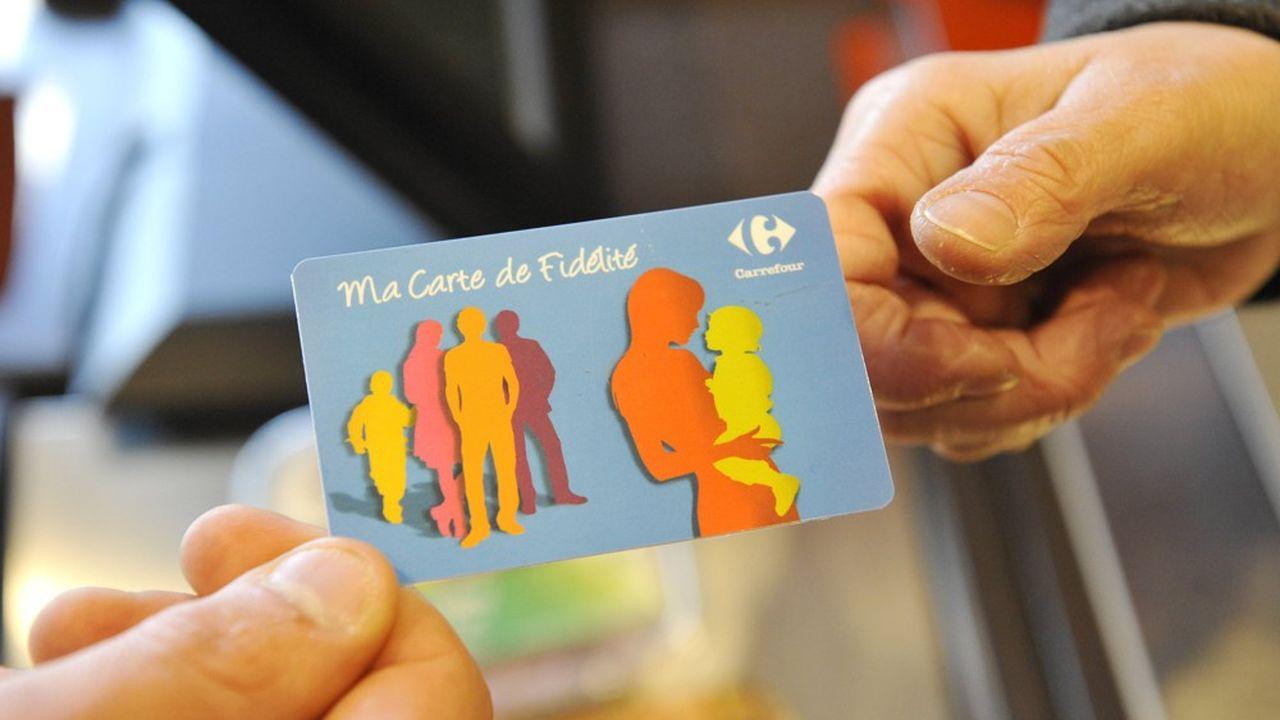 Carrefour et ses filiales comptent 50millions de porteurs de carte de fidélité qui génèrent des données clients.