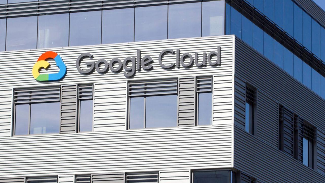 Google est le troisième acteur mondial du cloud, la location d'infrastructures informatiques de stockage et de calcul à distance, derrière Amazon et Microsoft.