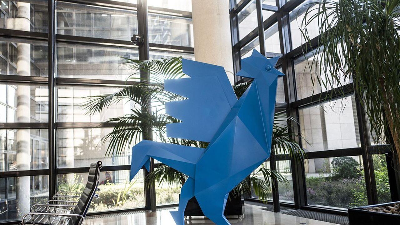 Le coq est l'emblème de la French Tech.