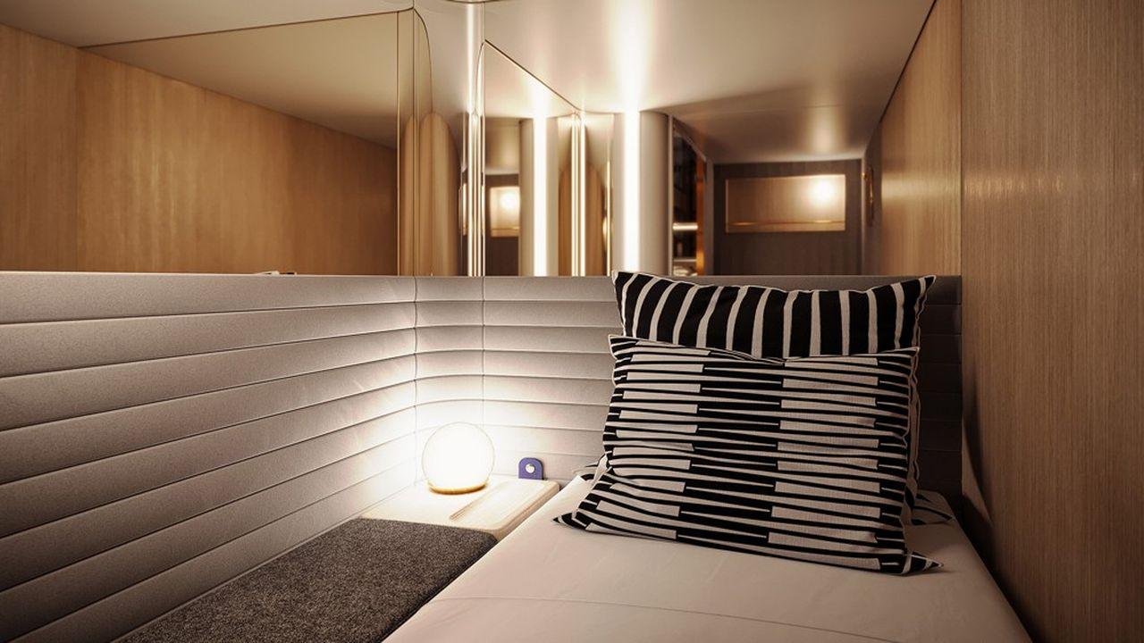 «Plus question de dormir avec des inconnus», selon les fondateurs de Midnight trains, qui espèrent lancer leurs premiers services internationaux au départ de Paris à la fin 2023.