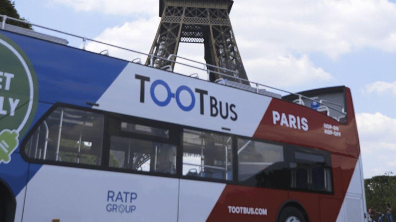 Les bus touristiques de la filiale de la RATP redémarrent mi-juin avec une flotte de 15 bus à faibles émissions.