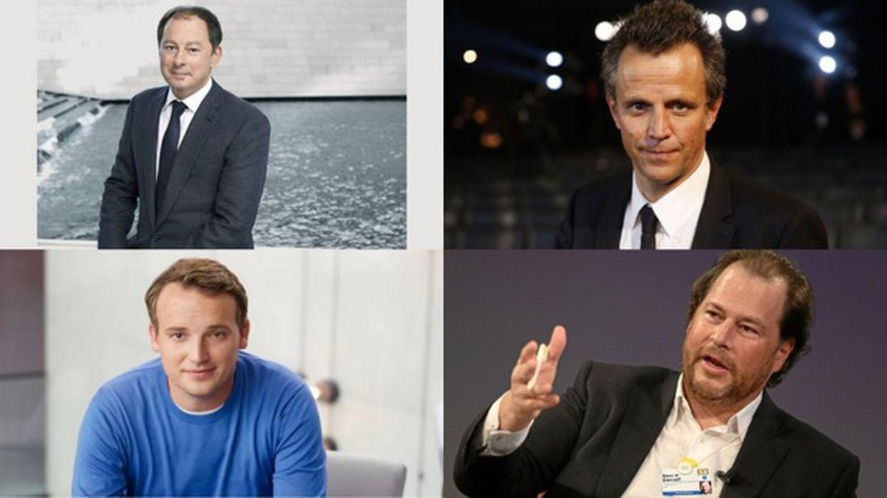 Chris de Lapuente, Arthur Sadoun, Christian Klein et Marc Benioff sont dans le classement ! Un classement... sans aucunes femmes