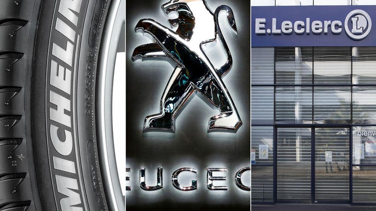 Michelin a retrouvé la tête du classement, devant Peugeot et Leclerc, gommant les effets de son annonce des suppressions de postes de janvier.