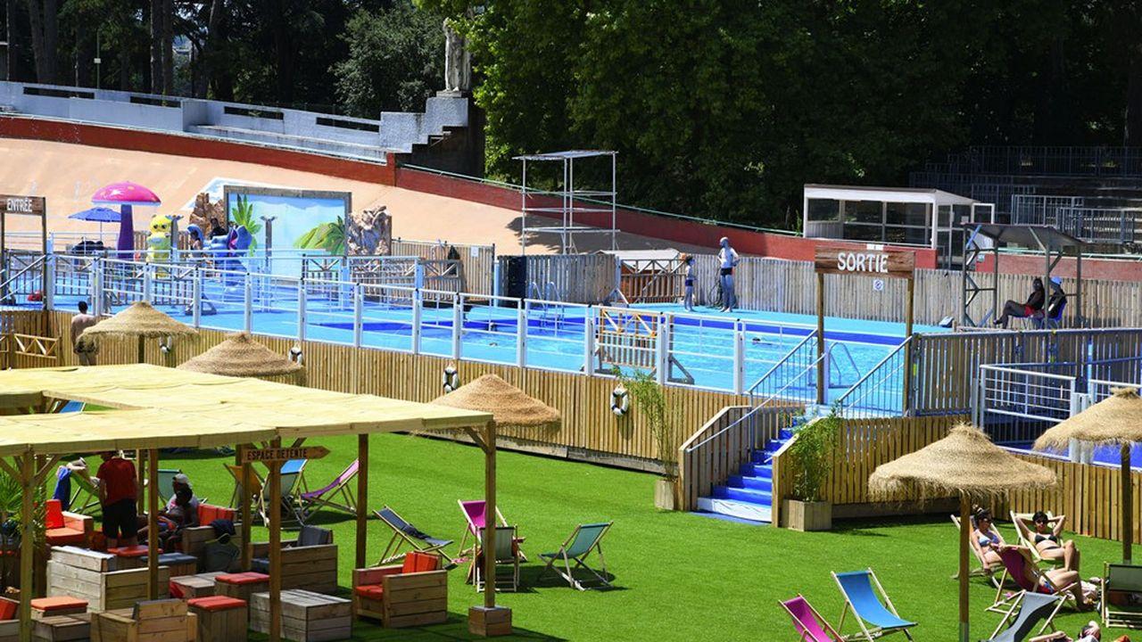 A Lyon, les piscines seront ouvertes sur des créneaux plus larges et un bassin éphémère sera installé au parc de la Tête d'or.