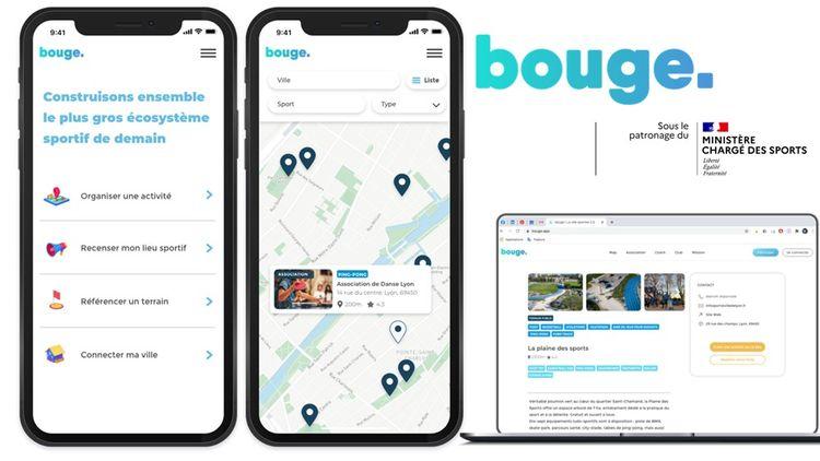 Bouge a été conçue pour être disponible sur les mobiles comme sur les ordinateurs.