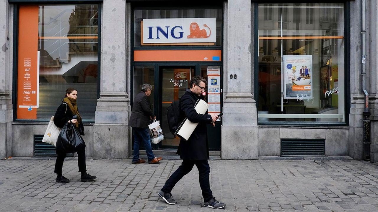 Le groupe néerlandais ING est présent dans une quarantaine de pays.