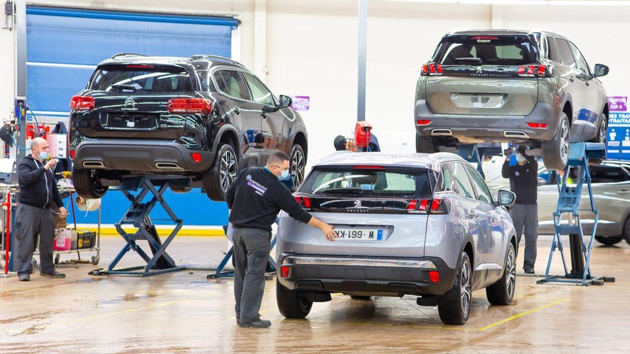 Aramis a reconditionné durant son dernier exercice 36.000 voitures d'occasion dans ses trois sites dédiés (ici celui de Donzère dans la Drôme), avant de les vendre en ligne.