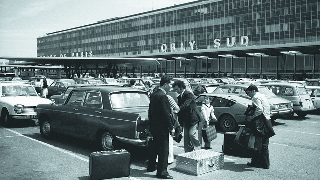 L'aéroport dans les années 1960.