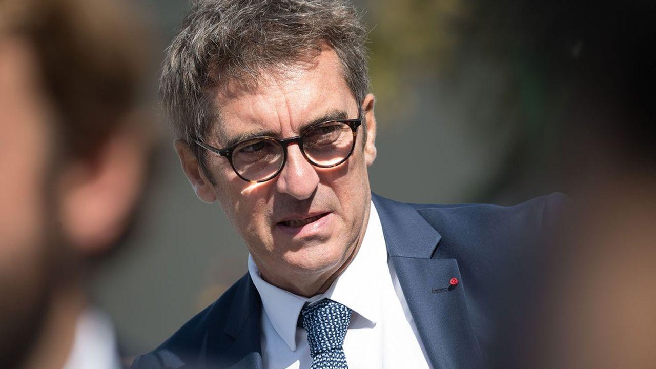 Le directeur général de Pôle emploi, Jean Bassères.