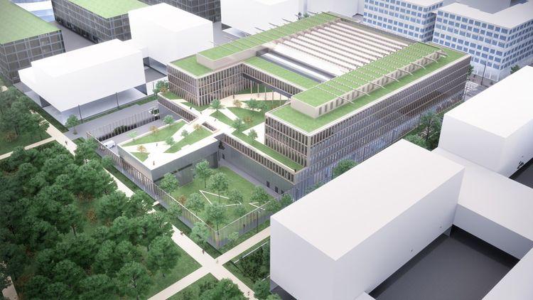 Le centre de Gif-sur-Yvette entend répondre à toutes les règles de construction, fixées par les élus et l'établissement public d'aménagementARTE CHARPENTIER ARCHITECTES